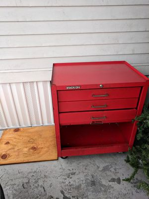 Stack on red tool box for Sale in Davie, FL