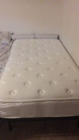 Twin mattress and bed frame for Sale in Erie, PA