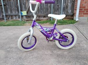Purple Girls Disney Princess Toddler Bicycle for Sale in Plano, TX