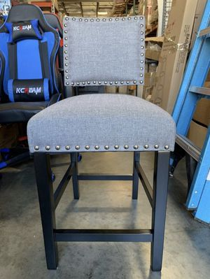 Brand New Upholstered Bar Stool Grey for Sale in Rowland Heights, CA