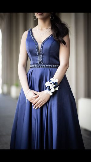 Navy Blue Prom Dress for Sale in Ceres, CA