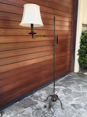 Antique iron floor lamp for Sale in CA, US