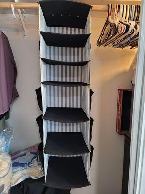 Hanging closet organizer for Sale in Vista, CA