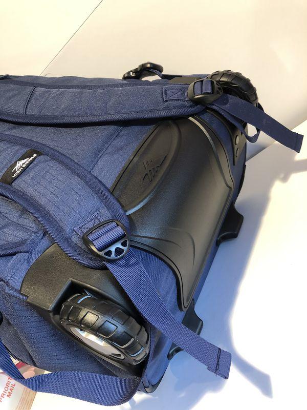 Brand new High Sierra Freewheel Rolling Backpack