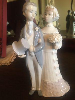 Bride and Groom Lladro Figurine for Sale in Naperville, IL