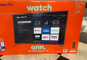 "Brand New 50"" 4K ONN TV! With Warranty! Open box! 1RXK for Sale in Pomona, CA"