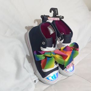 NEW JOJO Siwa girls High Top shoes size 1 for Sale in Richardson, TX