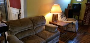 Couch,loveseat, recliner,endtables and 2 lights for Sale in Pekin, IL