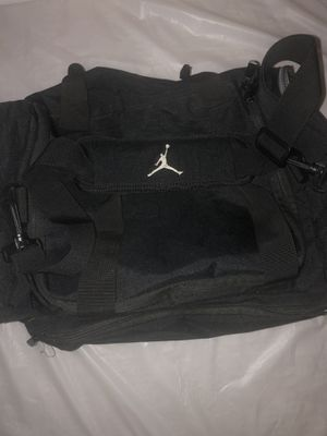 Air Michael Jordan Basketball Gym Duffle Bag Carry On Black Travel Shoulder for Sale in Riviera Beach, FL