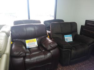 Reclining chairs on sale..... for Sale in Tampa, FL
