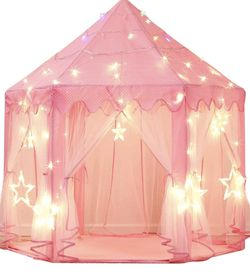 Princess Castle Tent With Star Lights for Sale in Fort Lauderdale,  FL