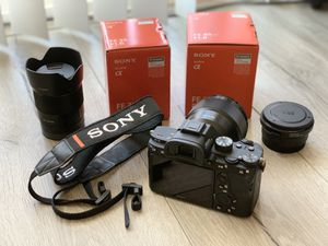 Sony A7iii 35mm 85mm lens for Sale in City of Industry, CA