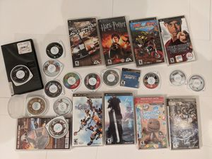 Lots and lots of awesome PSP games! Final Fantasy and LOTS MORE for Sale in Houston, TX