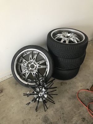 20'' Chrome Rims for Sale in Montpelier, MD