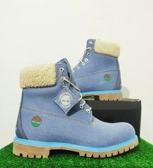 "Timberland Just Don 6"" Inch Premium Boot Light Blue Denim TB0A1UXU484 Size 9 for Sale in Lauderhill, FL"