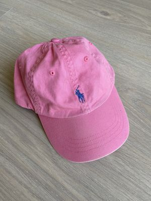 Pink Polo Ralph Lauren Dad Hat Cap for Sale in Los Angeles, CA