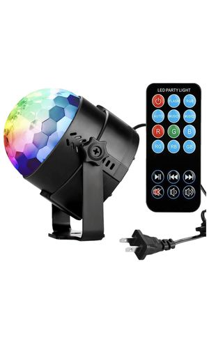 Disco Ball Disco Lights-COIDEA Party Lights Sound Activated Storbe Light With Remote Control DJ Lighting,Led 3W RGB Light Bal, Dance lightshow for Ho for Sale in Queens, NY