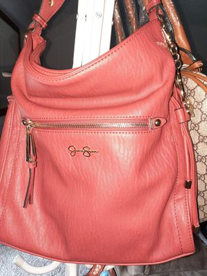 Jessica Simpson, GENUINE LEATHER. Sstchel Type. Magnetic Snap Front , zipper in Middle.NEVER USED. NEW. for Sale in Boca Raton, FL