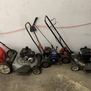 2 Mowers And An Edger for Sale in Dublin, OH