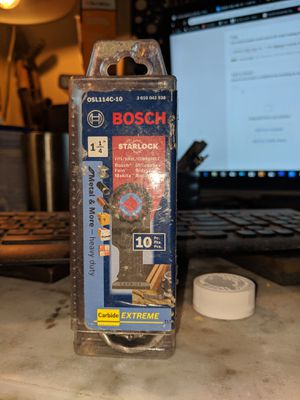 BOSCH Starlock Blades 10 pk for Sale in Guyton, GA
