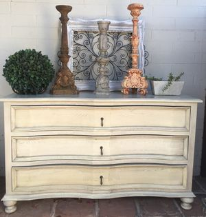 Curved Front 3 Drawer Dresser by Noir for Sale in Tempe, AZ