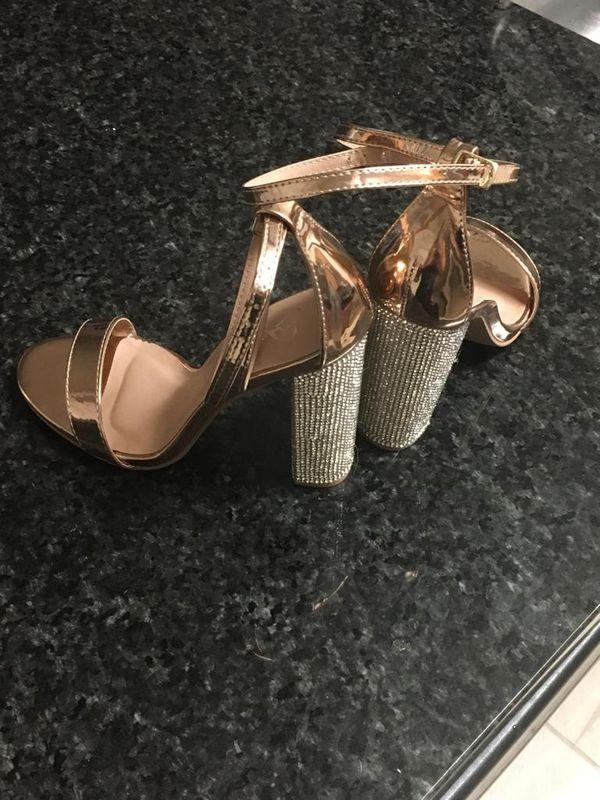 Windsor Rose-gold Shoe