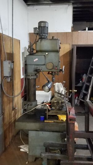 Automotive machining equipment . Excellent condition. Honing, boring machine and rack, valve grinder, head pressure tester, and drill for heads for Sale in Savannah, GA