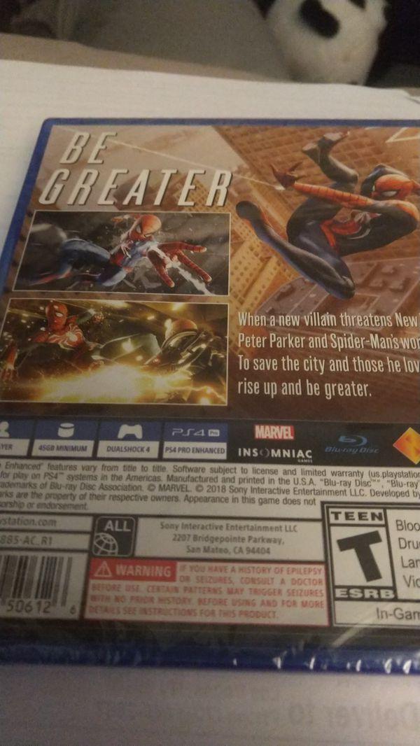 Spider-Man **Sealed, new**