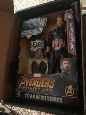 New Special addition Captain America figure for Sale in Tinicum Township, PA
