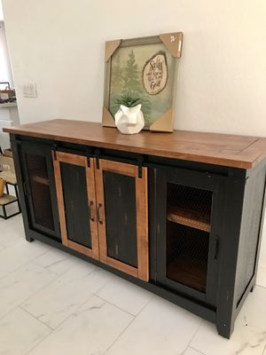Rustic / industrial / farmhouse style dresser / buffet / sideboard for Sale in Peoria, AZ