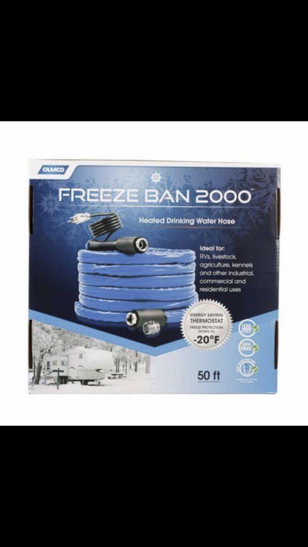 Freeze Ban 50ft Rv / Trailer / Camper Hose