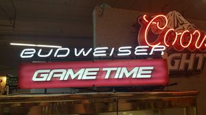 Neon Budweiser Game Time Light for Sale in Belmont, NC