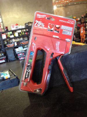 Milwaukee staple and nail gun for Sale in Phoenix, AZ
