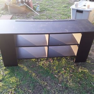 TV stand! Each side has two shelves of storage. for Sale in Gastonia, NC