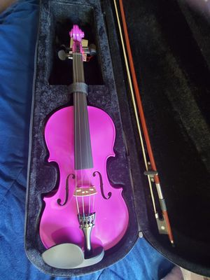 Purple Violin with case, brand new, never used. for Sale in Phoenix, AZ