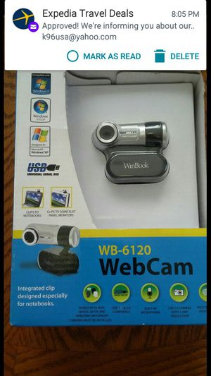 NEW WINBOOK WEBCAM WB 6120 NEW IN THE BOX for Sale in Lincolnia, VA