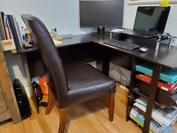 Computer Desk, L-Shaped
