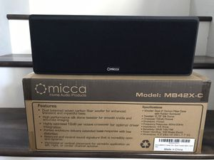 Micca MB42X-C center channel speaker for Sale in Chula Vista, CA