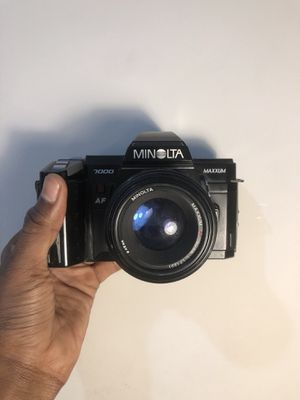 Minolta Maxxum 7000 SLR Film Camera for Sale in Brooklyn, NY