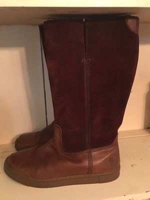 NEW FRYE Leather Boots Gemma Shearling Lined 6 for Sale in Murfreesboro, TN