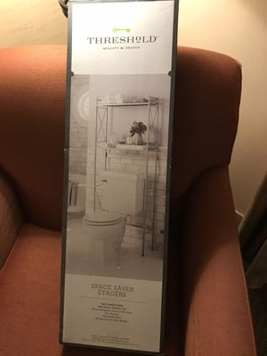 Threshold bathroom space saver for Sale in San Diego, CA