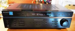 Sony STR-DE197 AM/FM Stereo Receiver Amplifier 100W Per Channel. Good working condition. Includes remote and manual for Sale in Los Angeles, CA