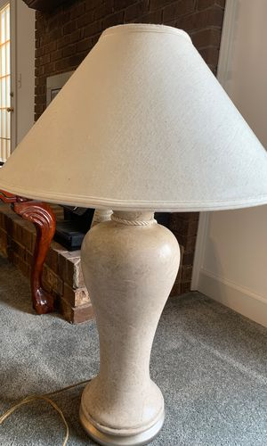 Two Harris table lamps for Sale in High Point, NC
