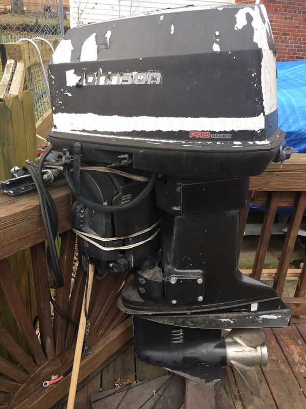 Johnson 115 boat motor
