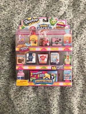 Shopkins MINI PACKS set of 16 for Sale in Vancouver, WA