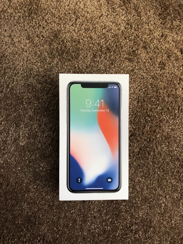 Box for iPhone X