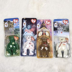 New Misprints Ty Mcdonalds Beanie Babies Bears Maple Glory Erin Britannia (Tarpon Springs) for Sale in Palm Harbor, FL