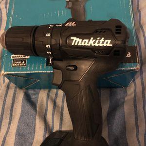 Makita Cordless Driver Drill 18 V for Sale in Stockton, CA
