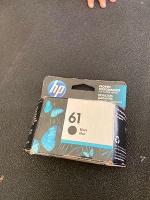Tinta para HP color negro número 61 for Sale in Modesto, CA