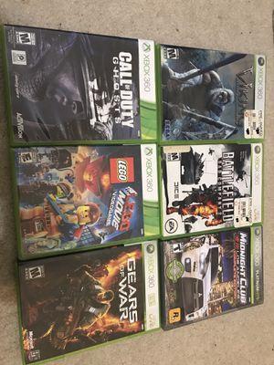 Xbox 360 Game bundle for Sale in Alpharetta, GA